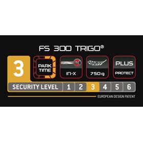 Trelock FS 300 Trigo - Antivol vélo - support inclus rose/noir